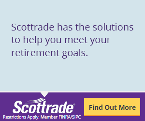 Open IRA Account: Start Saving With Scottrade Today (300x250)
